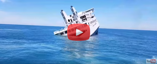 Sinking of M/V Twin Capes Video